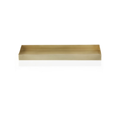 Brass Office Tray - Set of 4