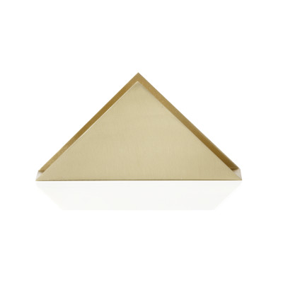 Brass Triangle Stand - Set of 8