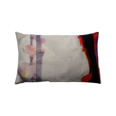 Bright Branch Rectangular Cushion