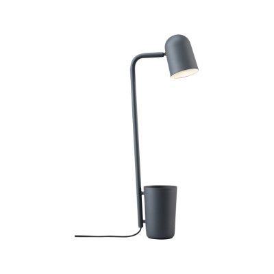 Buddy Table Lamp Dark Grey, Type C Plug