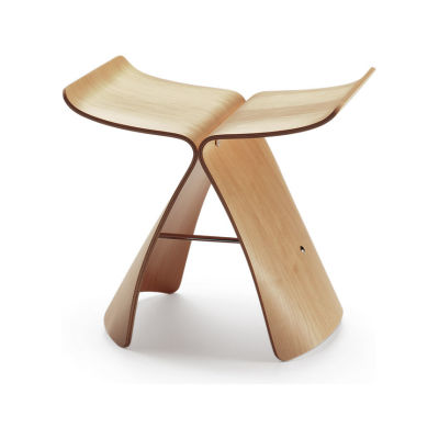Butterfly Stool maple