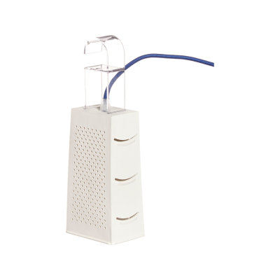 Cacio and Pepe Table Lamp Neutral, Black and White