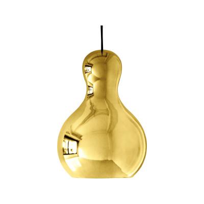 Calabash Pendant Light Gold Chromed, Large, 6 m cord