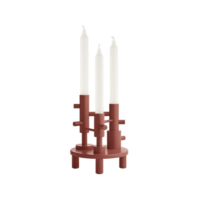 Candleholder Large - set of 2 Terracotta