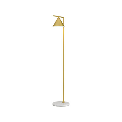 Captain Flint Floor Lamp Brass