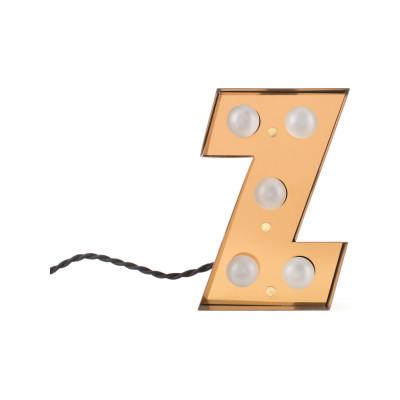 Caractère Alphabet Lamp Z