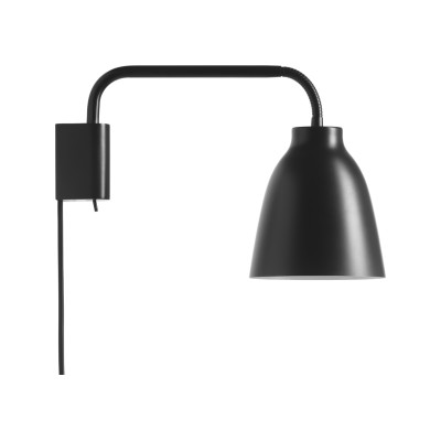 Caravaggio Read Wall Light Black