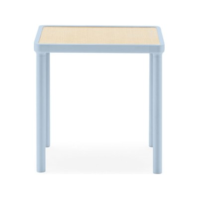 Case Coffee Table - Square Light blue