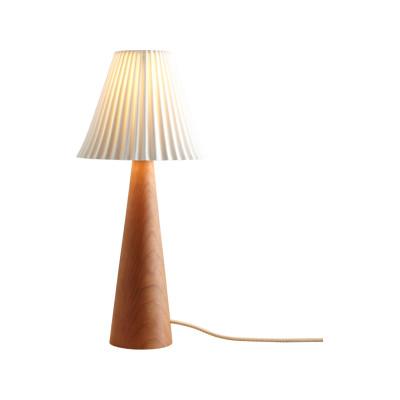 Cecil Table Lamp, Cone Base Oak Cone