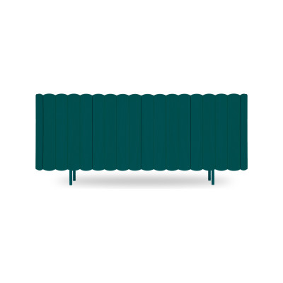 Cesar Sideboard Petrol Blue, Large