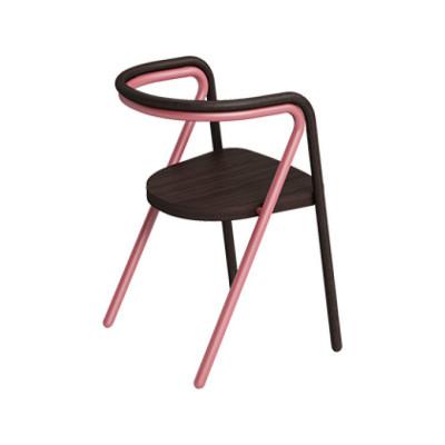 Chair 2 Frassino Ash Wood 113, Struttura 01 Bianco, 6