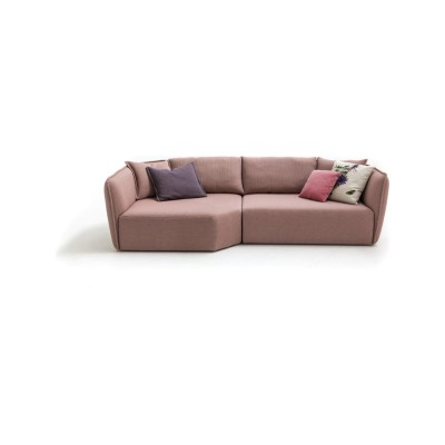 Chamfer A20 Composition Sofa A5081 - Elastic 1 Uniform Melange Hydro, Right