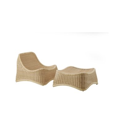 Chill Indoor Lounge Chair with Stool