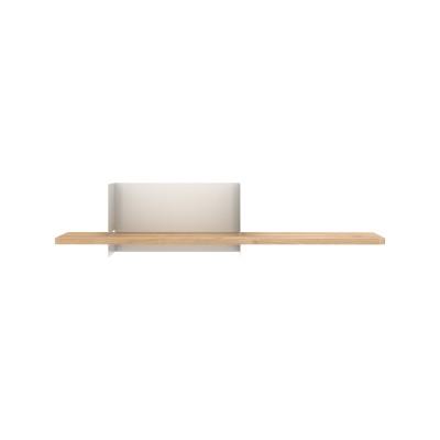 Clip Wall Shelf Medium Light Grey