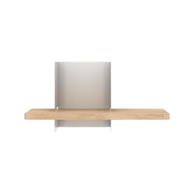 Clip Wall Shelf Small Light Grey