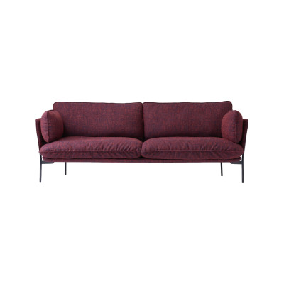 Cloud LN3.2 Sofa Powder coated warm black, Remix 2 113