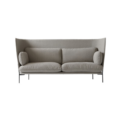 Cloud LN7 Three-Seater Sofa Powder coated warm black, Remix 2 113