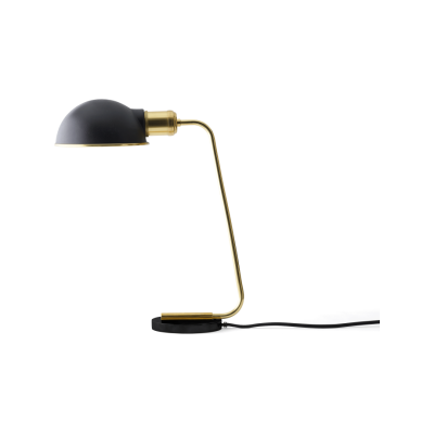 Collister Tribeca Table Lamp Mirror Polished Brass