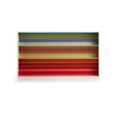 Color Fall Wall Bookshelf pink/orange/green multicolor