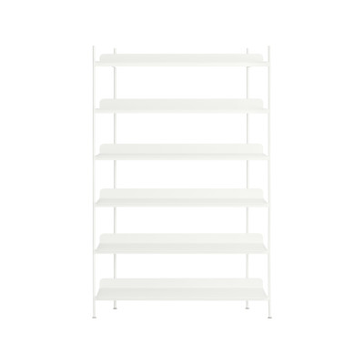 Compile Shelving System Configuration 4, White