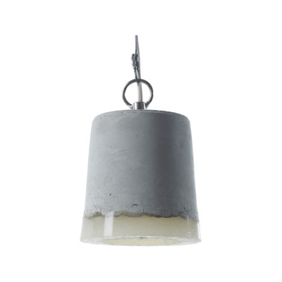 Concrete Pendant Light Small