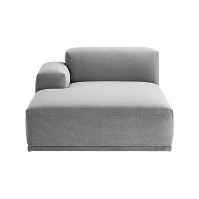 Connect Modular Sofa - Left Armrest Lounge Divina Melange 2 120