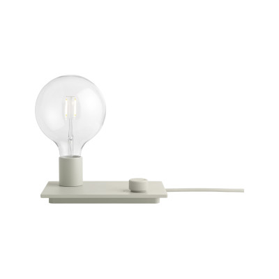 Control Table Lamp Grey