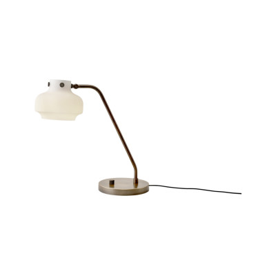 Copenhagen SC15 Desk Lamp Opal glass with bronzed brass