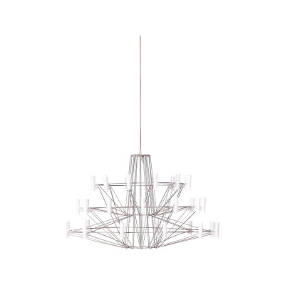 Coppelia Chandelier Small, Chromed, 4 m