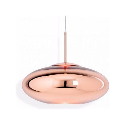 Copper Wide Pendant Lamp Copper