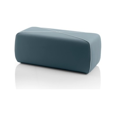 Crossed Pouf - Rectangular LN5320