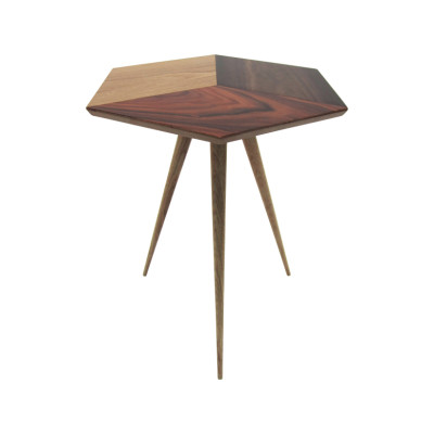 Cube 1 Side Table Wood