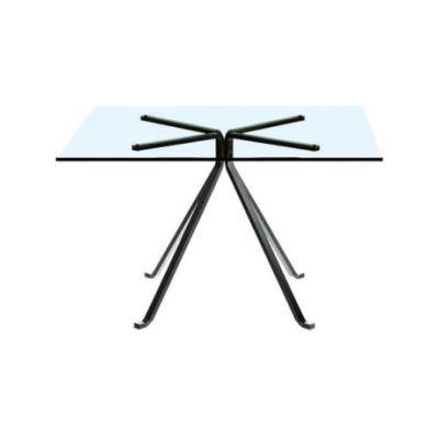 Cuginetto Square Table Square Tempered Glass