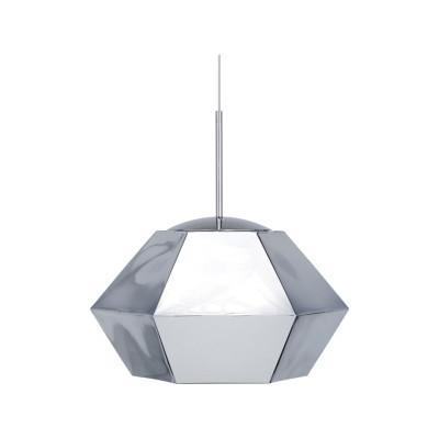 Cut Short Pendant Lamp Chrome