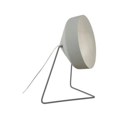 Cyrcus F Floor Lamp Cemento, Grey, Silver