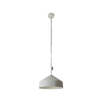 Cyrcus Pendant Light Cemento, Grey, Silver