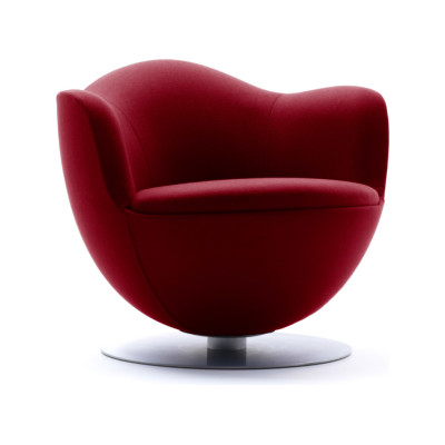 Dalia Armchair Pelle Extra Leather Extra 983, With Spring Return