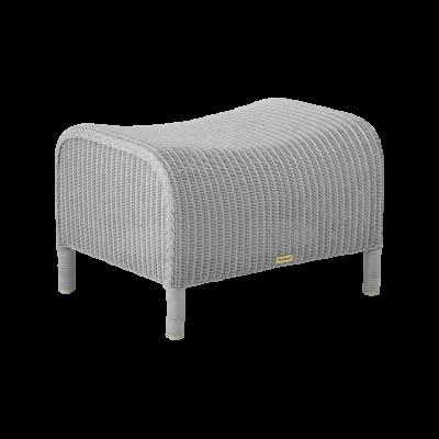 Dawn Light Grey Footstool Set of 2 Light Grey