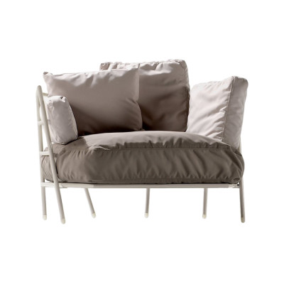 Dehors 370 Sofa Stove Enamelled Steel - A012, Cuba