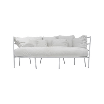Dehors 371 2 Seater Sofa Stove Enamelled Steel - A012, Cuba