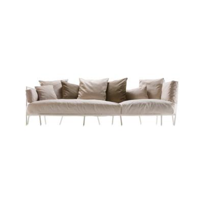 Dehors 372 3 Seater Sofa Stove Enamelled Steel - A012, Cuba