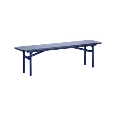 Diagonal bench Midnight Blue