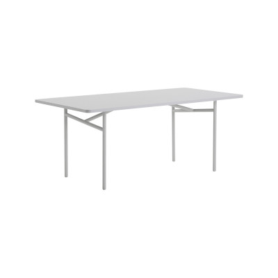 Diagonal Dining Table Grey