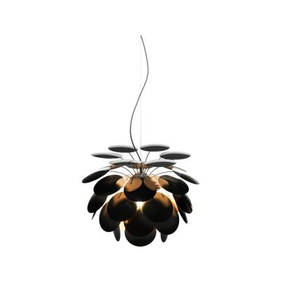 Discoco Pendant Light Ral 9004-Gold, 53cm, 200cm