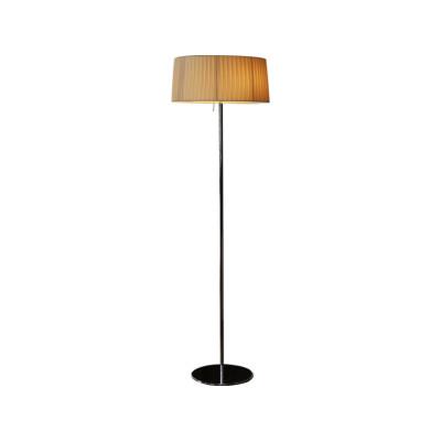 Divina Large Floor Lamp White plissé