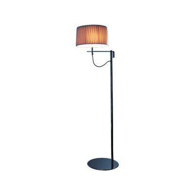 Divina Floor Lamp Medium White plissé