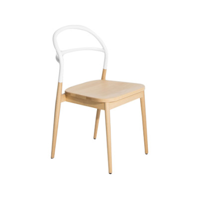 Dojo Dining Chair White, RAL 9016