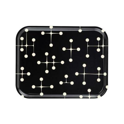 Dot Pattern Classic Tray - Set of 5 Reverse Dark, Large