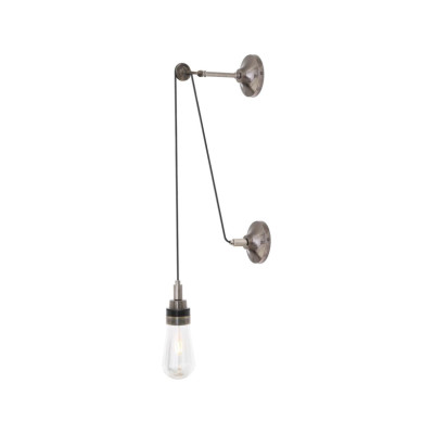 Dylan Pulley Wall Light Antique Brass