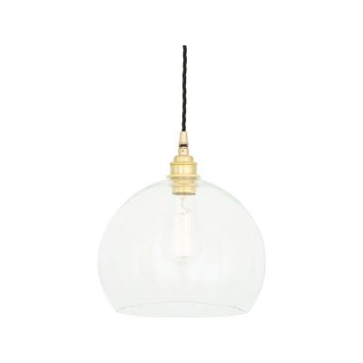 Eden Pendant Light Satin Brass, 35cm